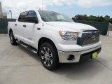 2012 Super White Toyota Tundra Texas Edition CrewMax #64924762