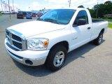 2008 Bright White Dodge Ram 1500 SLT Regular Cab #64975851