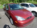 2003 Sangria Red Metallic Ford Focus ZX3 Coupe #64975495
