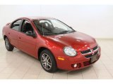 2003 Blaze Red Crystal Pearl Dodge Neon SXT #64975814