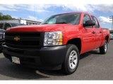 2011 Victory Red Chevrolet Silverado 1500 Crew Cab #64975423