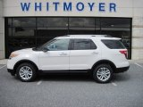 2013 White Platinum Tri-Coat Ford Explorer XLT 4WD #64975791
