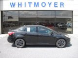 2012 Tuxedo Black Metallic Ford Focus SE Sport Sedan #64975790