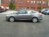 2012 Sterling Grey Metallic Ford Focus SEL Sedan #64975420