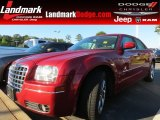 2008 Inferno Red Crystal Pearl Chrysler 300 Touring #64975410