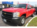 2010 Victory Red Chevrolet Silverado 1500 Regular Cab 4x4 #64975783