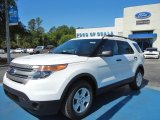 2013 Oxford White Ford Explorer EcoBoost #64975374