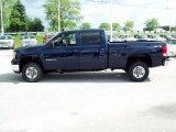 2009 GMC Sierra 2500HD Midnight Blue Metallic