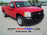 2012 Victory Red Chevrolet Silverado 1500 Work Truck Regular Cab #64975745