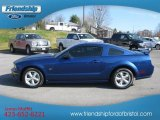 2007 Vista Blue Metallic Ford Mustang GT Deluxe Coupe #64975342