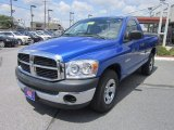 2008 Electric Blue Pearl Dodge Ram 1500 SXT Regular Cab #64975734