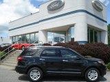 2013 Tuxedo Black Metallic Ford Explorer XLT 4WD #64975280