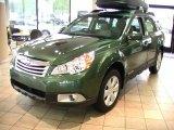 2012 Cypress Green Pearl Subaru Outback 2.5i #64975248