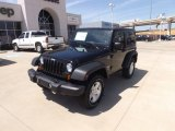 2012 Black Jeep Wrangler Sport 4x4 #64975677
