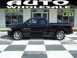 2012 Black Dodge Ram 1500 Express Quad Cab 4x4 #64975639