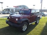 2011 Deep Cherry Red Crystal Pearl Jeep Wrangler Sport S 4x4 #64975631