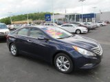 2013 Indigo Night Blue Hyundai Sonata Limited #64975181
