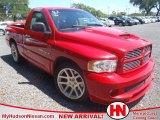2004 Flame Red Dodge Ram 1500 SRT-10 Regular Cab #64975047