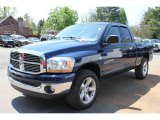 2006 Patriot Blue Pearl Dodge Ram 1500 SLT Quad Cab 4x4 #64975929