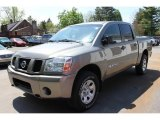 2007 Granite Nissan Titan XE Crew Cab 4x4 #64975928