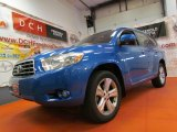 2008 Blue Streak Metallic Toyota Highlander Limited 4WD #64975907