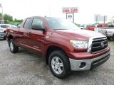 2010 Salsa Red Pearl Toyota Tundra SR5 Double Cab 4x4 #64975882