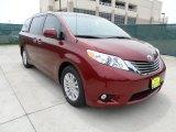 2012 Salsa Red Pearl Toyota Sienna XLE #64975559