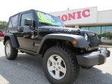 2012 Black Jeep Wrangler Rubicon 4X4 #65041613