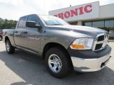 2012 Mineral Gray Metallic Dodge Ram 1500 ST Quad Cab 4x4 #65041610