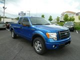 2010 Blue Flame Metallic Ford F150 FX4 SuperCab 4x4 #65041502