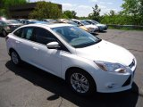 2012 Oxford White Ford Focus SEL Sedan #65041494