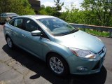 2012 Frosted Glass Metallic Ford Focus SEL Sedan #65041493