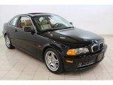 2001 Jet Black BMW 3 Series 330i Coupe #65041900