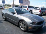 2011 Sterling Gray Metallic Ford Mustang V6 Premium Coupe #65041435