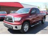 2010 Salsa Red Pearl Toyota Tundra Double Cab 4x4 #65041862