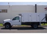 2004 Oxford White Ford F450 Super Duty XL Regular Cab 4x4 Chassis Stake Truck #65042152