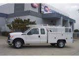 2012 Ford F350 Super Duty XL SuperCab Utility Truck Data, Info and Specs