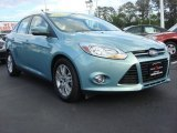 2012 Frosted Glass Metallic Ford Focus SEL Sedan #65042134