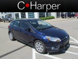 2012 Kona Blue Metallic Ford Focus SE 5-Door #65041298