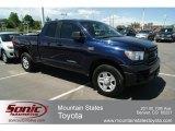 2010 Nautical Blue Metallic Toyota Tundra Double Cab 4x4 #65041289