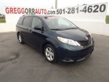 2011 South Pacific Blue Pearl Toyota Sienna LE #65041749