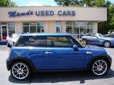 2007 Lightning Blue Metallic Mini Cooper S Hardtop #65041742
