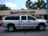2005 Bright Silver Metallic Dodge Ram 1500 Laramie Quad Cab 4x4 #65041737