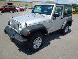 2012 Bright Silver Metallic Jeep Wrangler Sport 4x4 #65042006