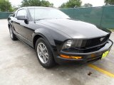 2005 Black Ford Mustang V6 Premium Coupe #65041662