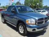 2006 Atlantic Blue Pearl Dodge Ram 1500 SLT Quad Cab 4x4 #65041636
