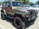 2006 Light Khaki Metallic Jeep Wrangler X 4x4 #65041634