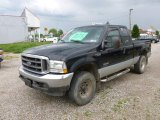 2004 Black Ford F250 Super Duty FX4 SuperCab 4x4 #65041631