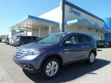 2012 Twilight Blue Metallic Honda CR-V EX-L 4WD #65116783