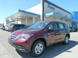 2012 Basque Red Pearl II Honda CR-V LX 4WD #65116782
